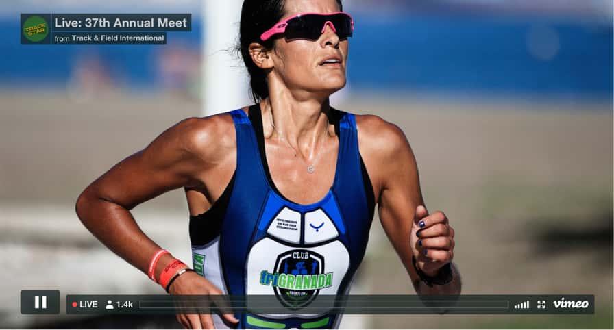 Événement de live streaming Vimeo par Track and Field International
