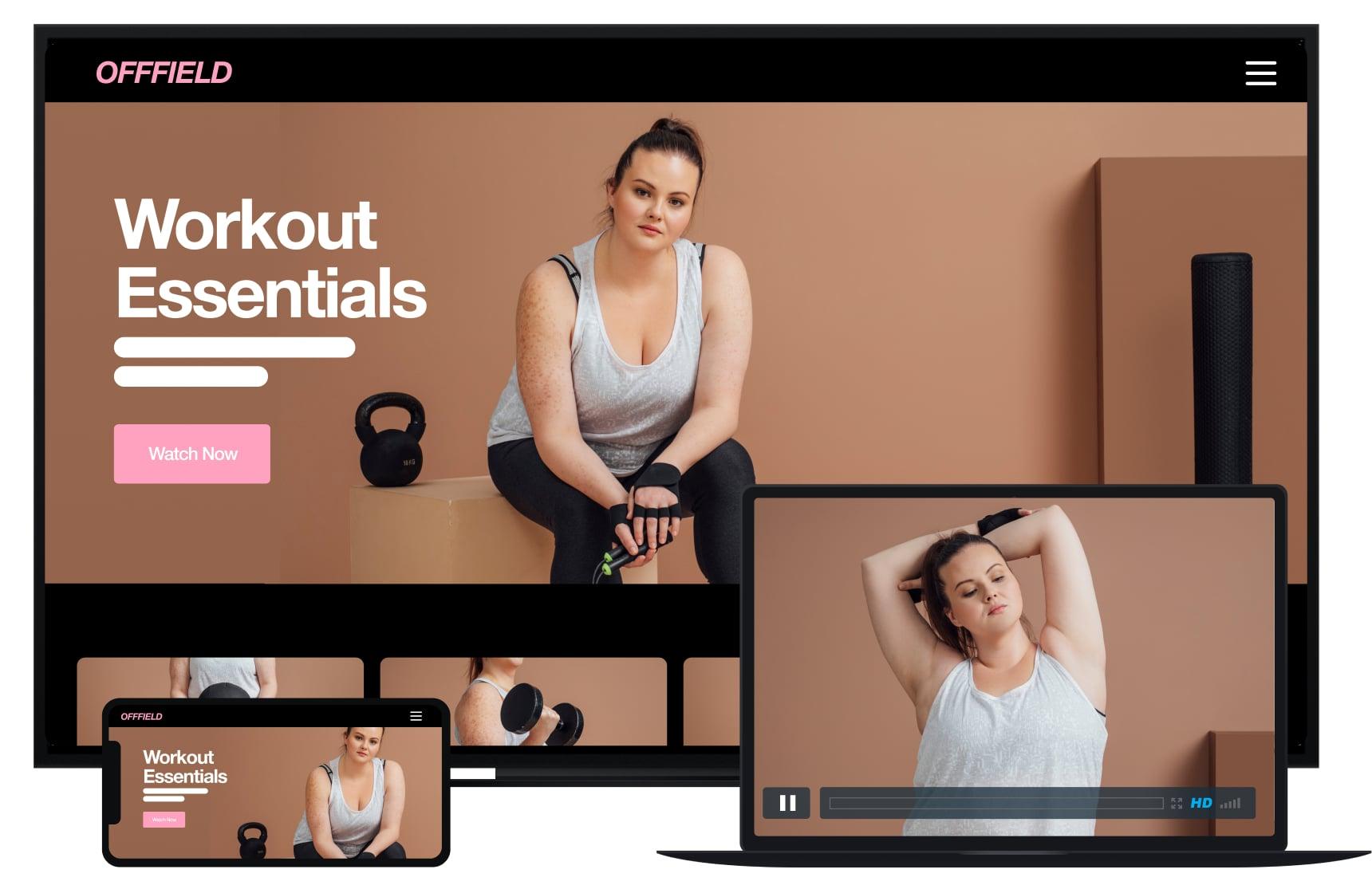 manbetx篮球赛事Vimeo Ott产品跨多个设备