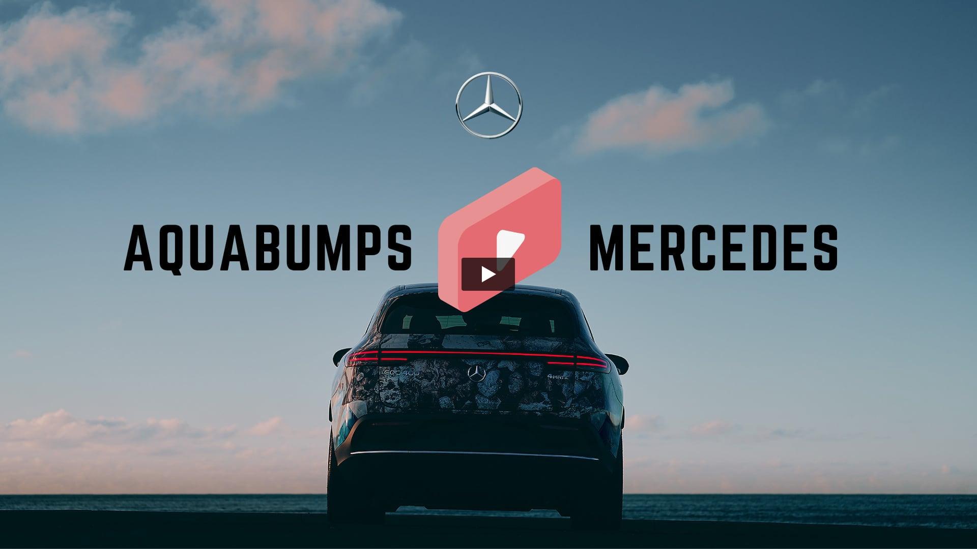 Mercedes Benz X Aquabumps