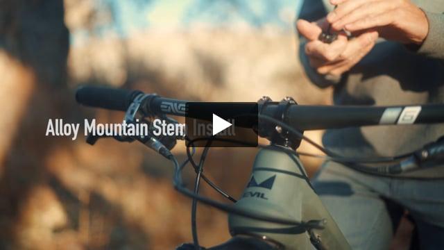 31.8 Alloy Mountain Stem - Video