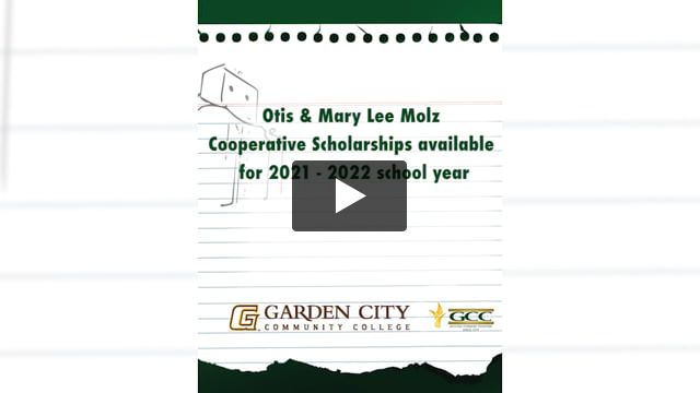 Molz Cooperative Scholarship NOW AVAILABLE for the 2021- 2022 school year