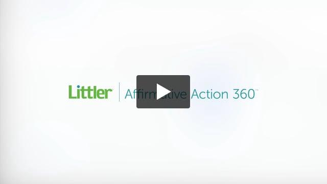 Littler Affirmative Action 360
