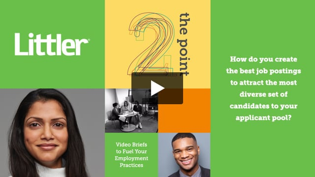 How do you create the best job postings to attract the most diverse set of candidates to your applicant pool?