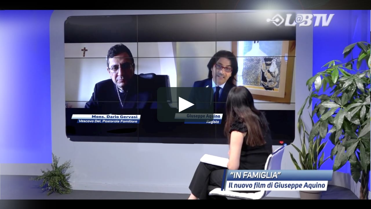 Intervista al Regista Giuseppe Aquino e il Vescovo Ausiliare di Roma Don Dario Gervasi