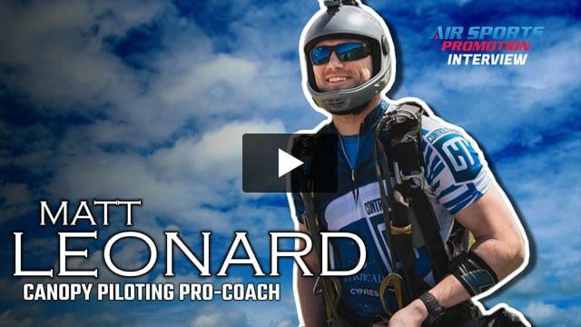MATT LEONARD Interview