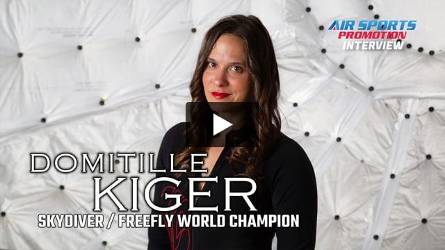 DOMITILLE KIGER Interview