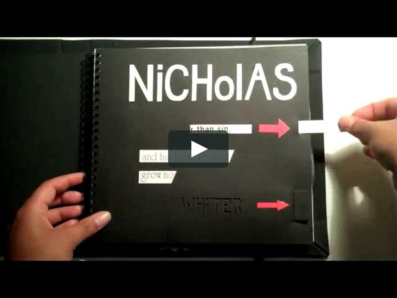 Papercraft Nicholas Was...