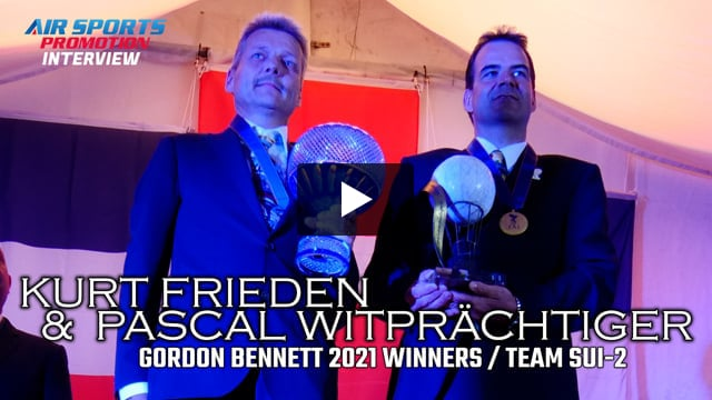 GB2021 Winners - Team SUI-2 interview