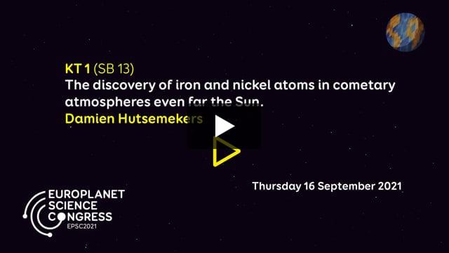 Vimeo: EPSC2021 – KT1 SB keynote talk by Damien Hutsemekers