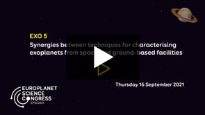 Vimeo: EPSC2021 – EXO5 Synergies between techniques for characterising exoplanets from space and ground-based facilities