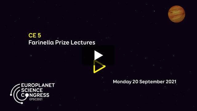 Vimeo: EPSC2021 – CE5 Farinella Prize Lectures