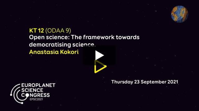 Vimeo: EPSC2021 – KT12 ODAA keynote talk by Anastasia Kokori