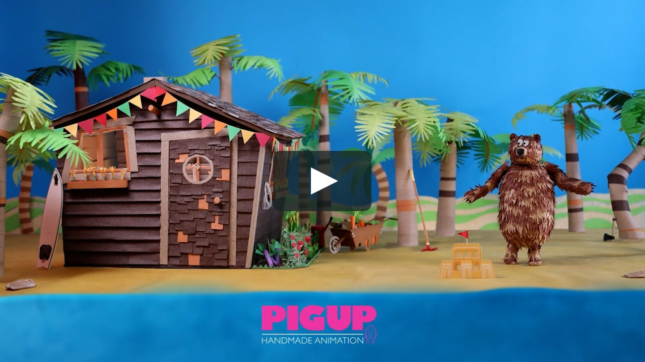 Papercraft PIG UP - DEMO REEL 2016