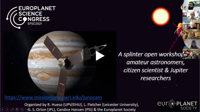 Vimeo: EPSC2021 – SMW2 Pro-Am collaborations (I): Juno's Extended Mission at Jupiter