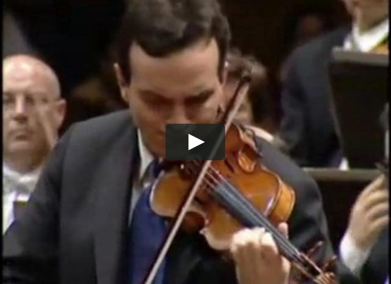 Bruch - Violin Concerto No.1 1/3 (Shaham)