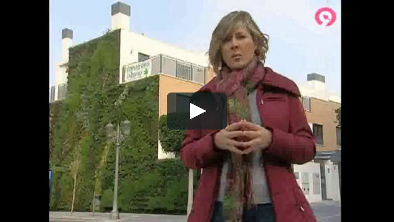 Jardines verticales de paisajismo urbano on vimeo for Paisajismo urbano