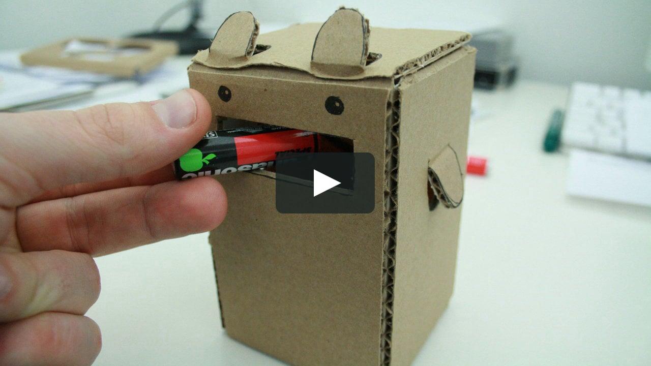 Papercraft Battery Fun Kit Concept