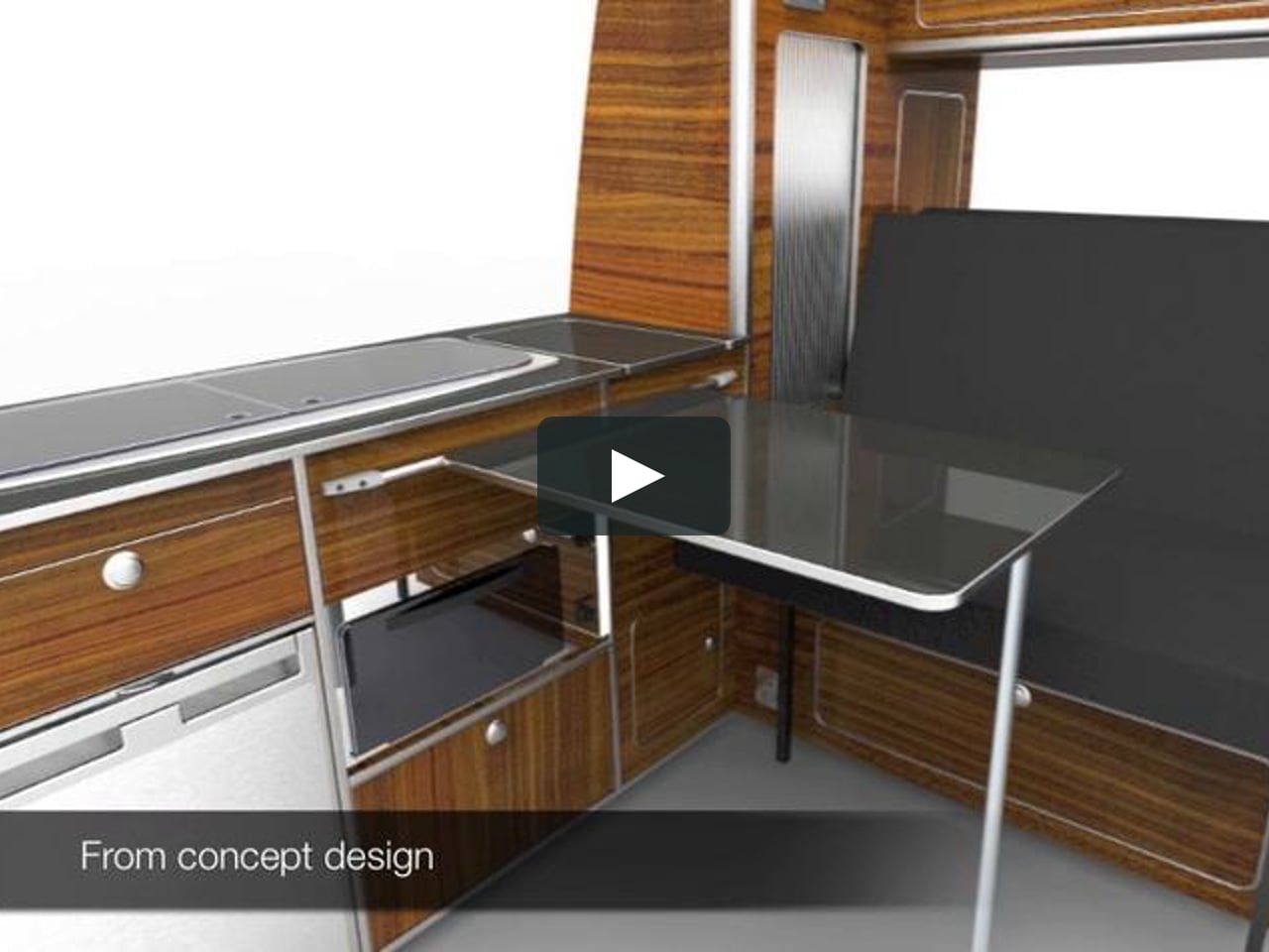 Vw t5 campervan conversions on vimeo for Sheeps wool insulation cost comparison