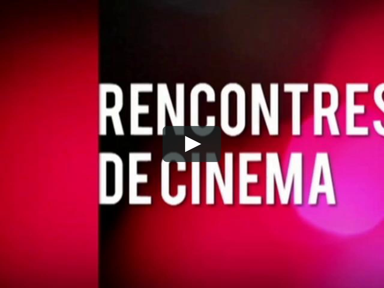 Rencontre cinema canal plus