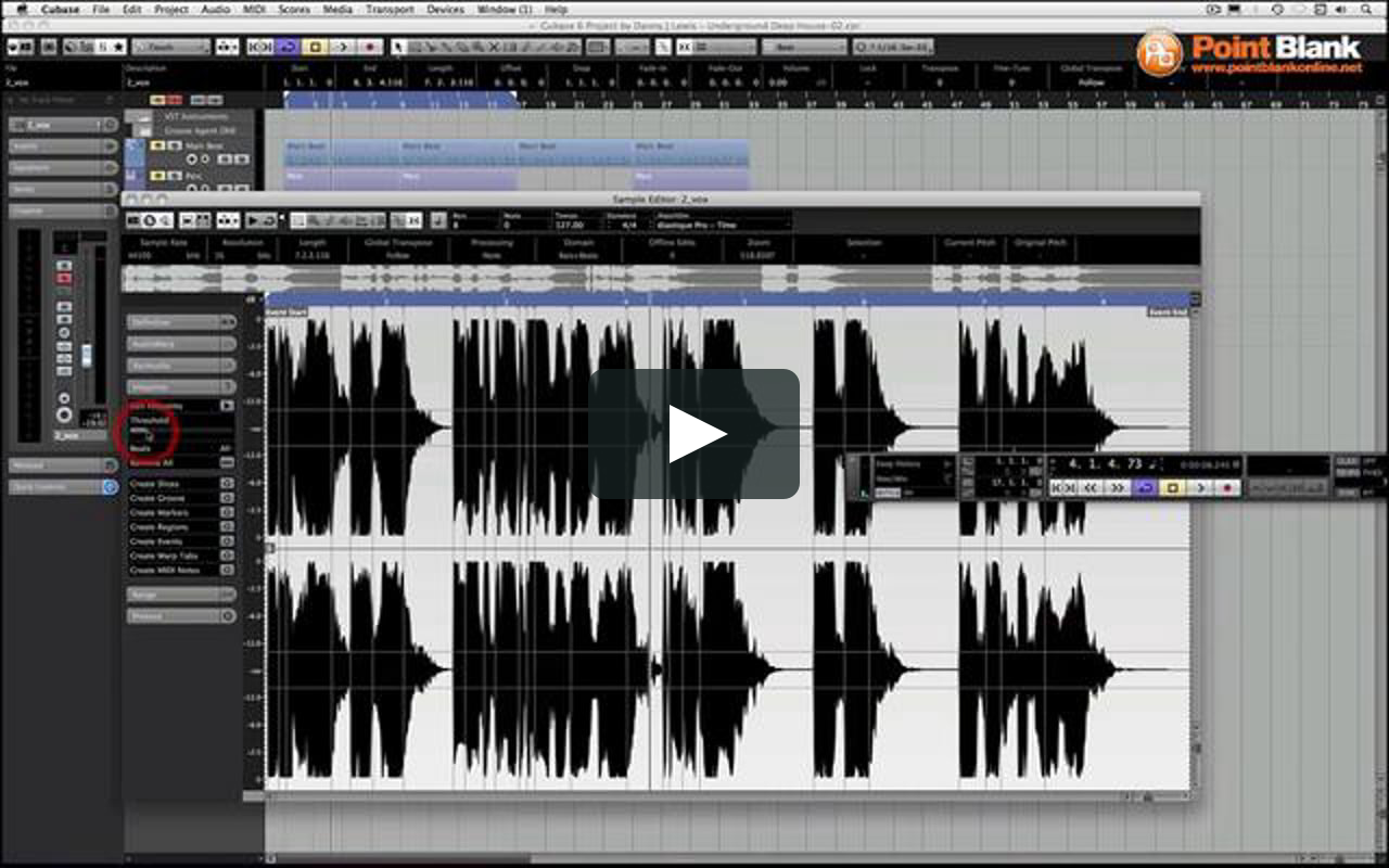 Cubase 6 tutorial vocal cutups 90s house on vimeo for 90s vocal house