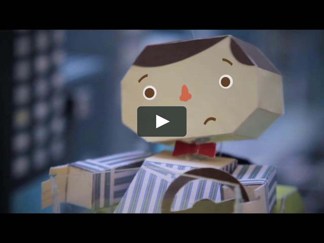 Papercraft Mtv CocaCola - Happy Men