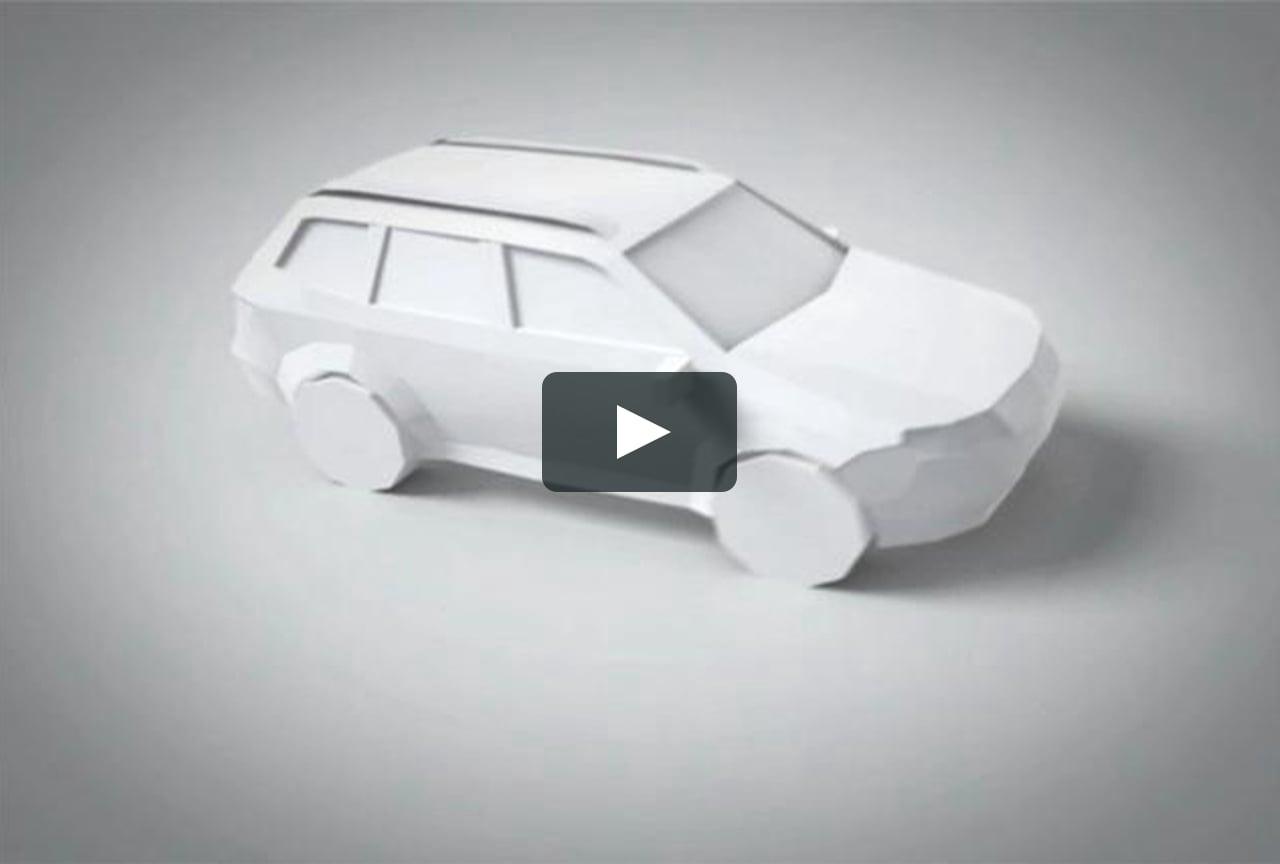 Papercraft Arigatô, Subaru Caoa.