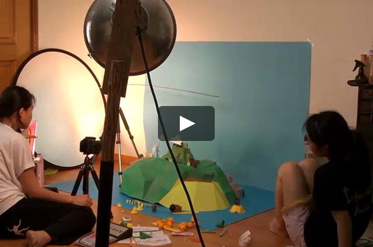 Papercraft JEJU CONTEST_Making Film