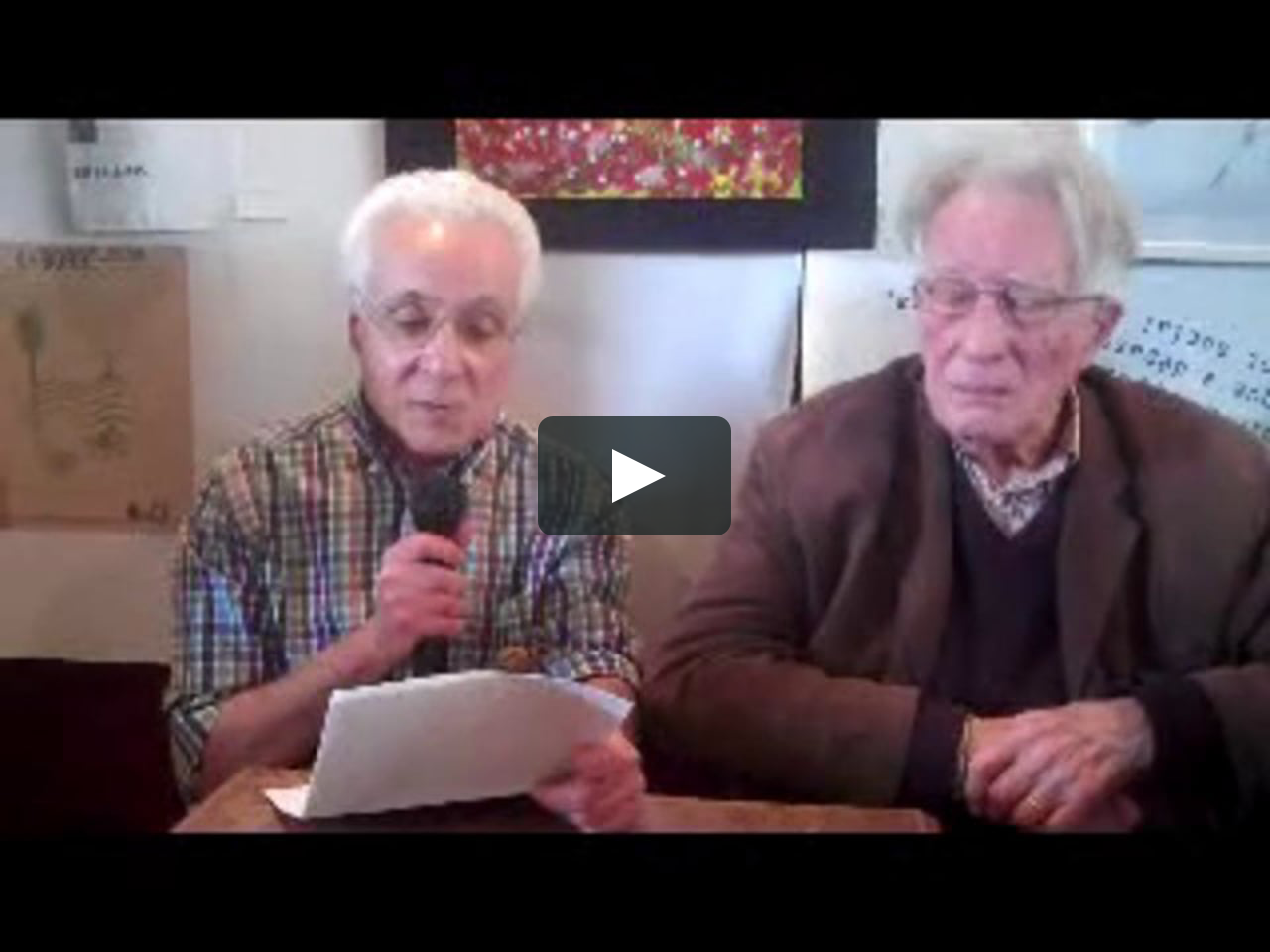jean oury et chemla la psychoth 233 rapie institutionnelle le collectif le commun on vimeo