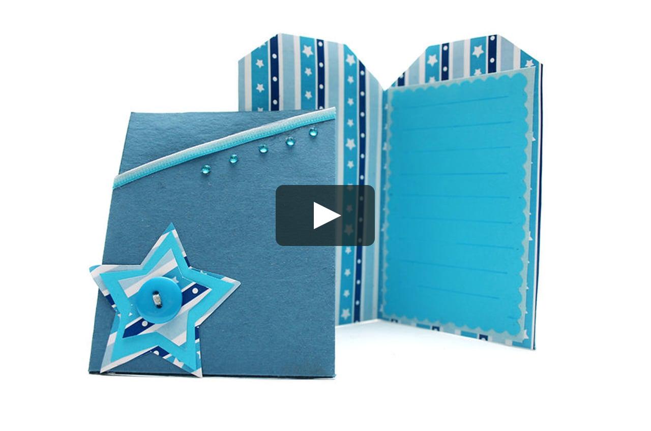 Papercraft Tarjeta para navidad