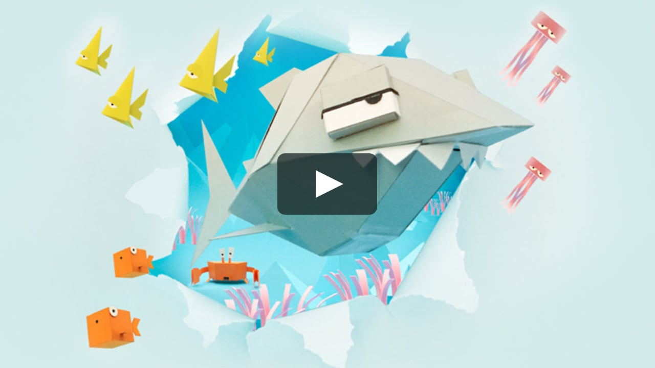 Papercraft Derrick the Deathfin Teaser Trailer!