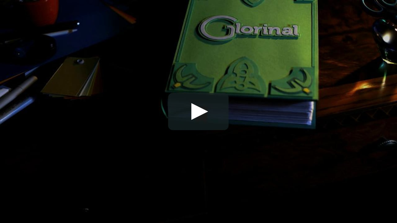 Papercraft Glorinal commercial