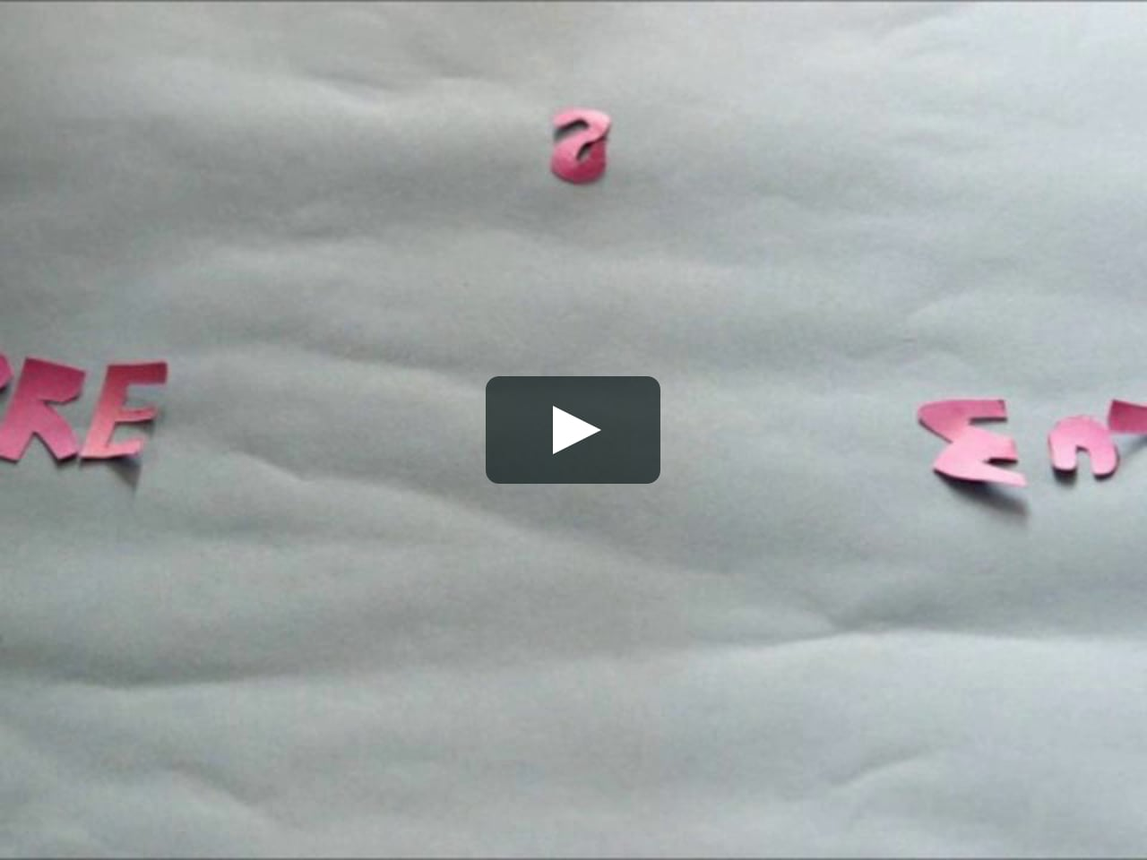 Papercraft paper craft (stop motion) - adulescentia