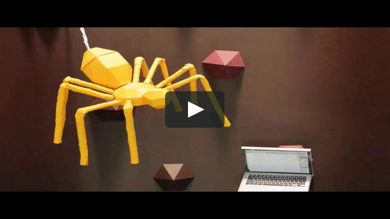 Papercraft Papercraft stop motion