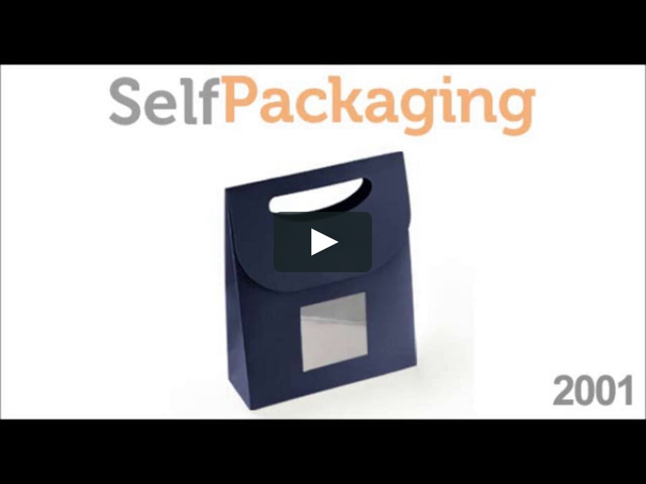 sac cadeau en carton avec une anse comment faire pochette cadeau 2001 de selfpackaging on vimeo. Black Bedroom Furniture Sets. Home Design Ideas