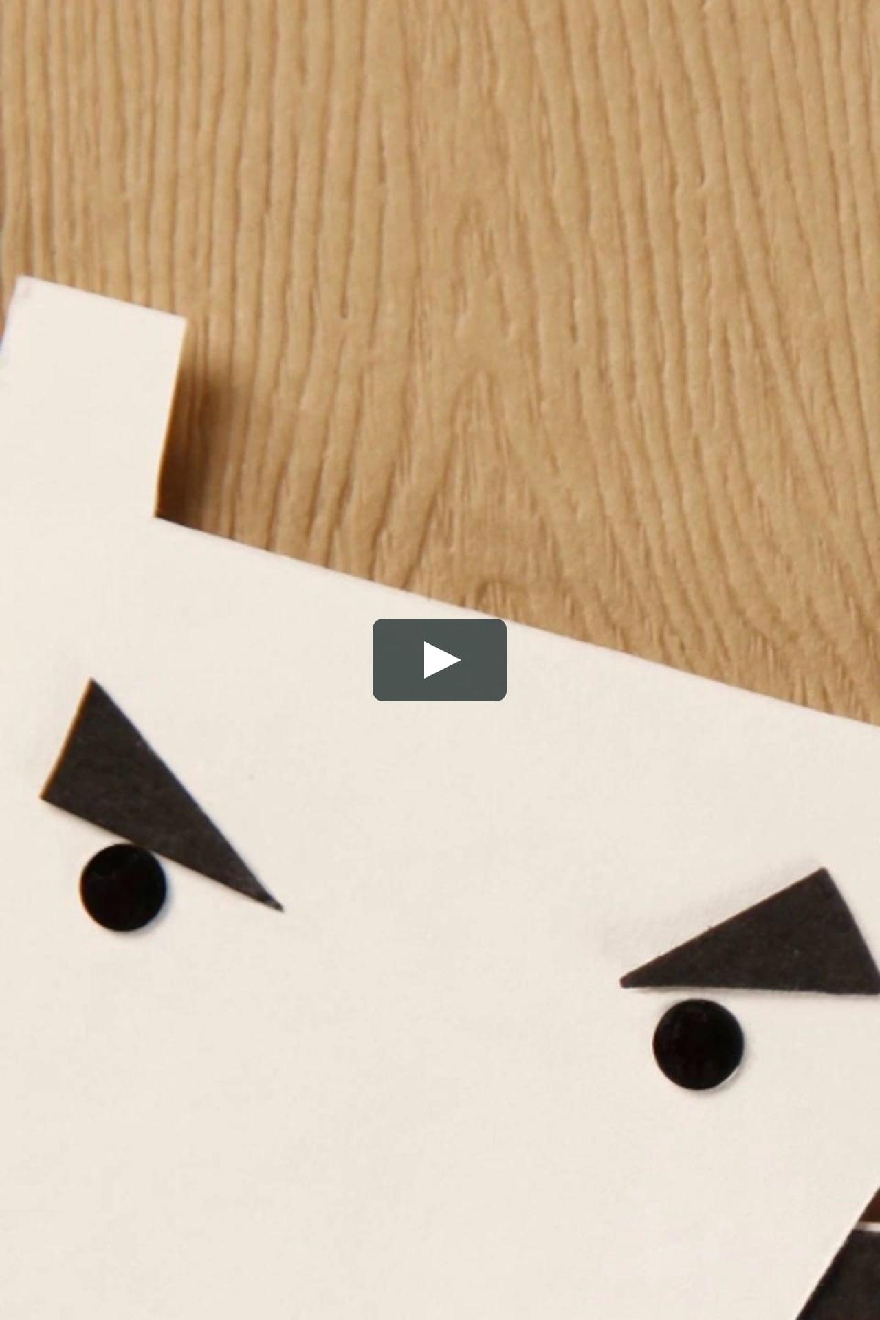 Papercraft Handburger Series: Dancing Cows