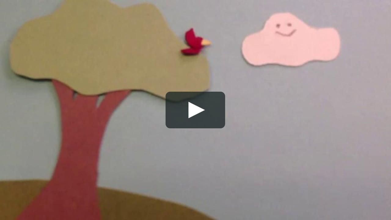 Papercraft i am a cloud