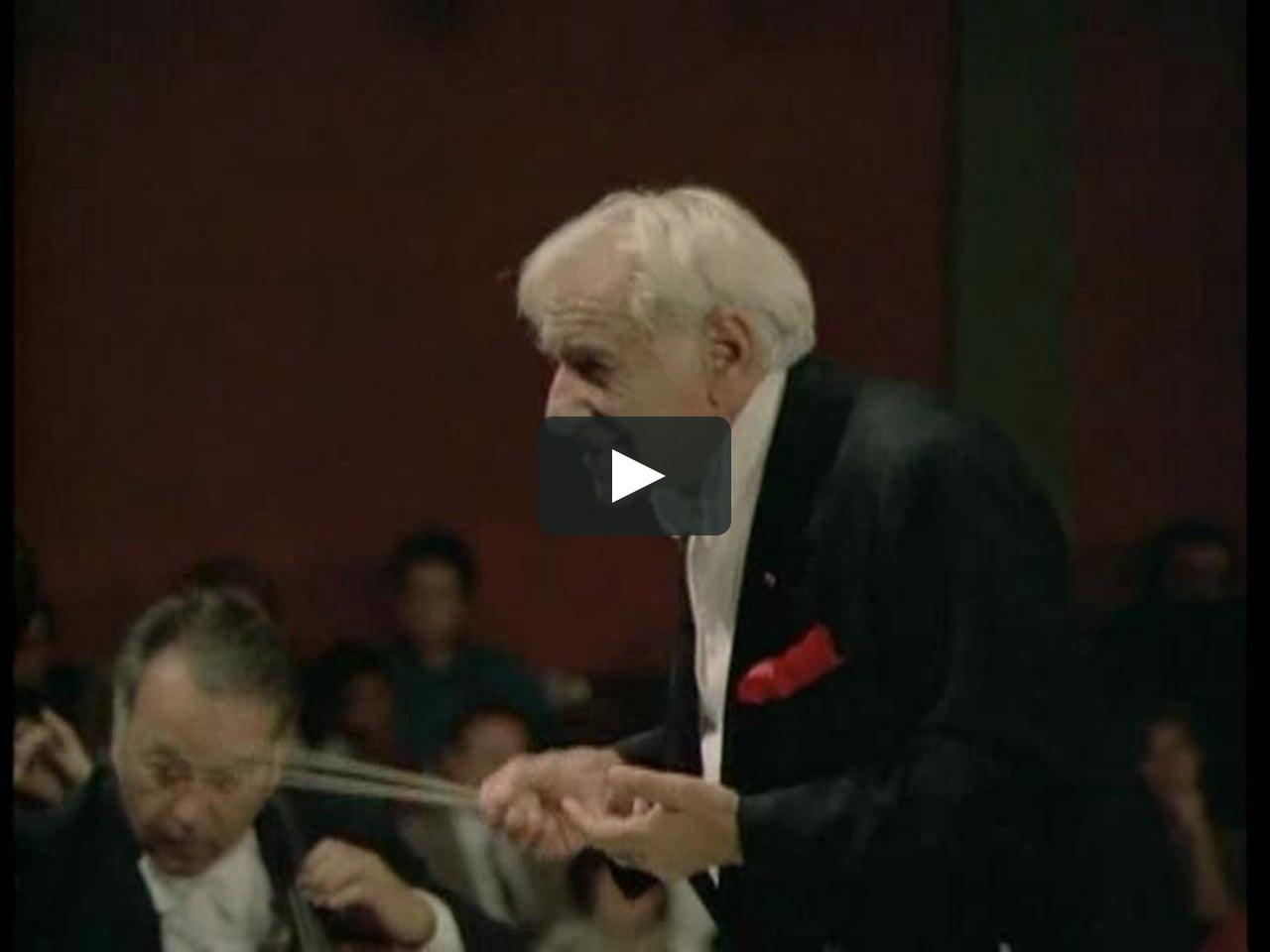 Jean Sibelius: Symphony no 5 - III. Allegro molto - Leonard Bernstein & Wiener Philharmoniker