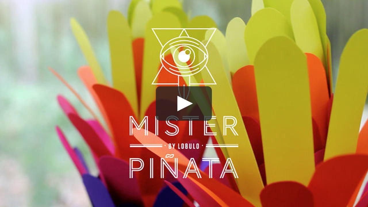 Papercraft Mister Piñata Teaser