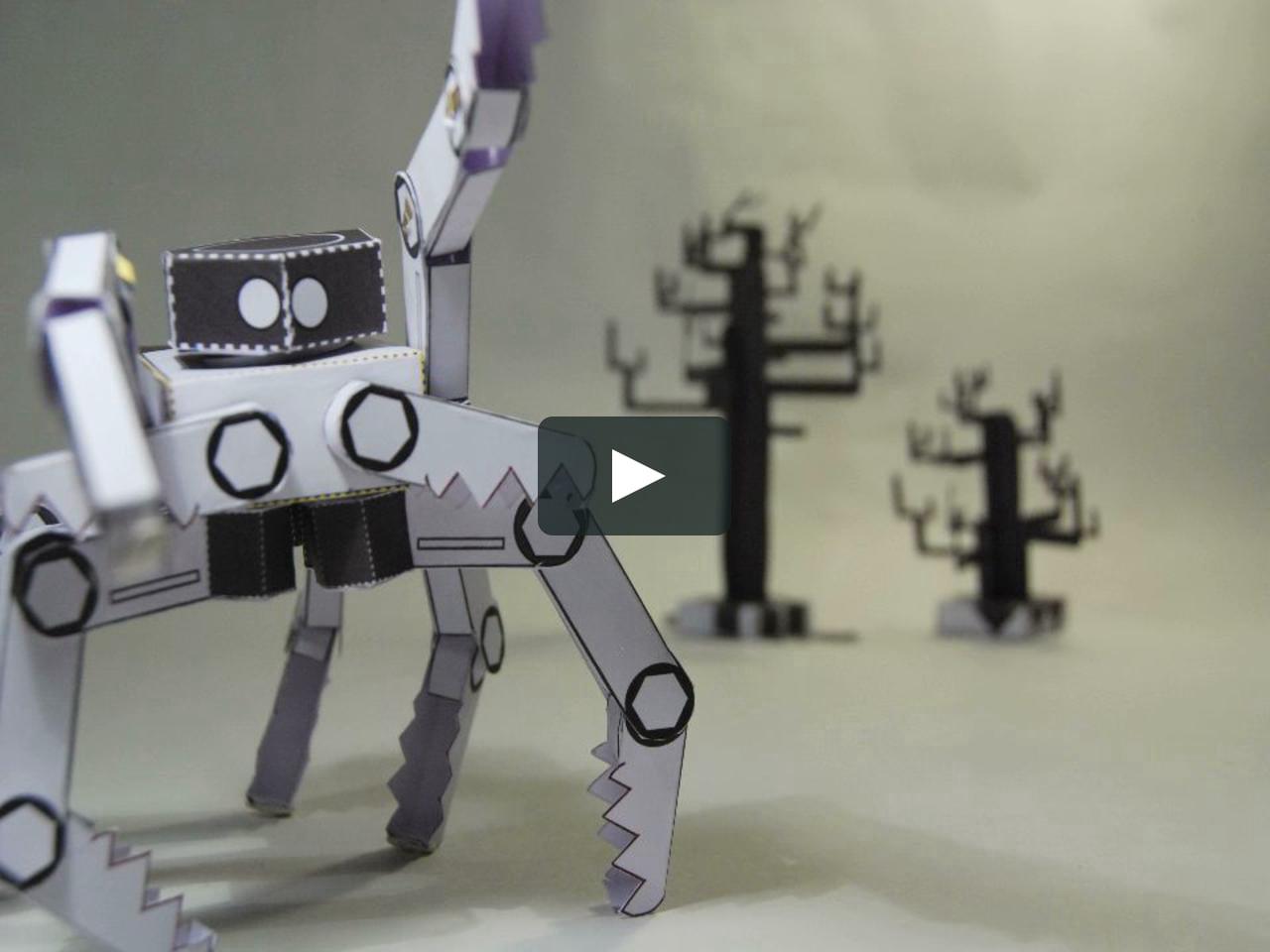 Papercraft Trailer ED N'ROBOT 3