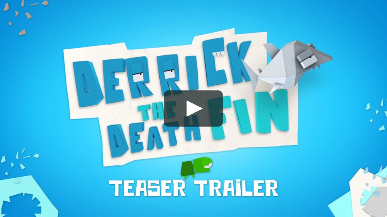 Papercraft Derrick the Deathfin - Teaser Trailer