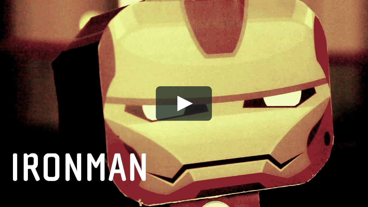 Papercraft Iron Man - The Paper Craft