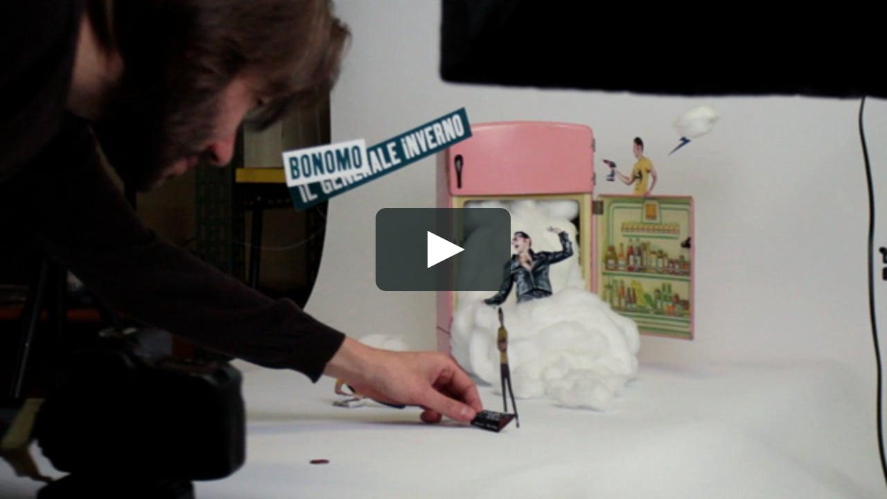 Papercraft Bonomo making of