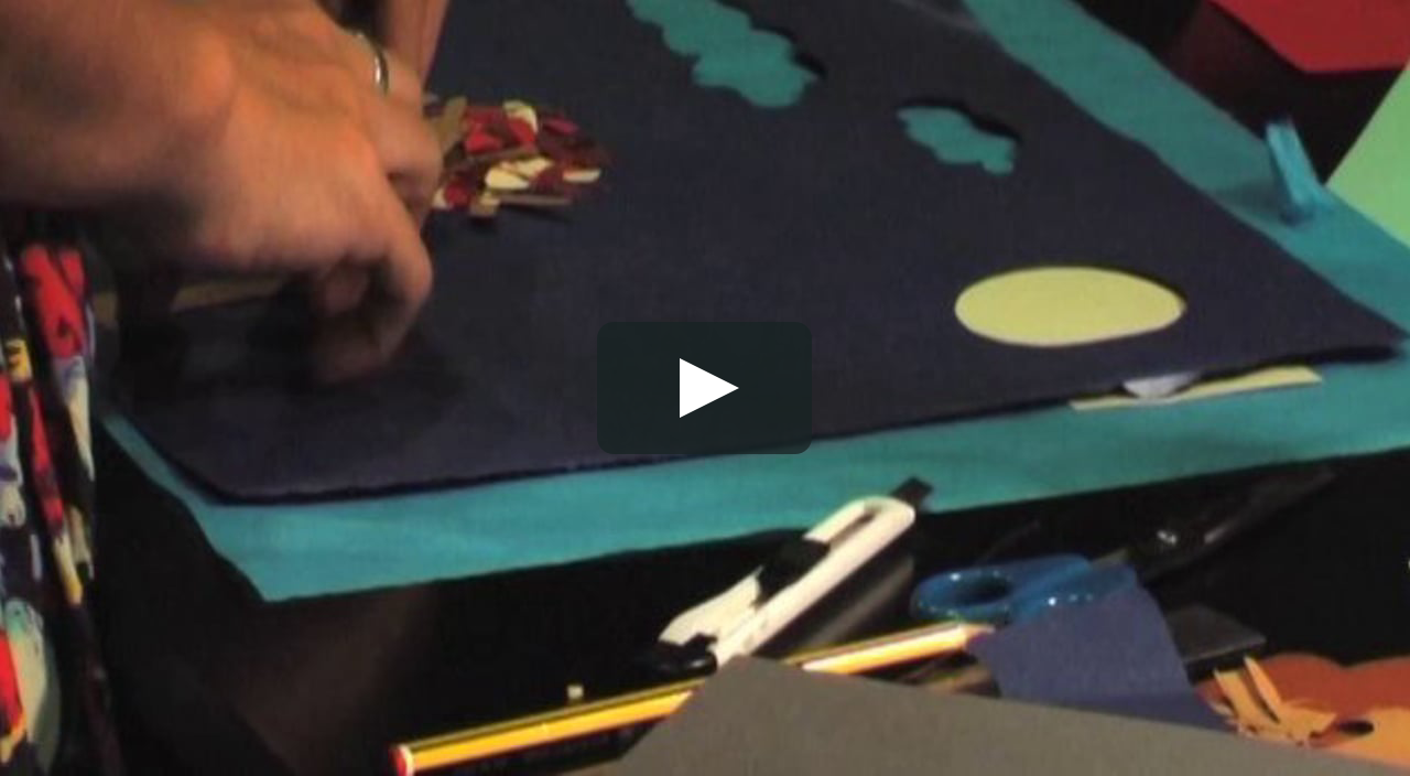 Papercraft Detrás de cámara