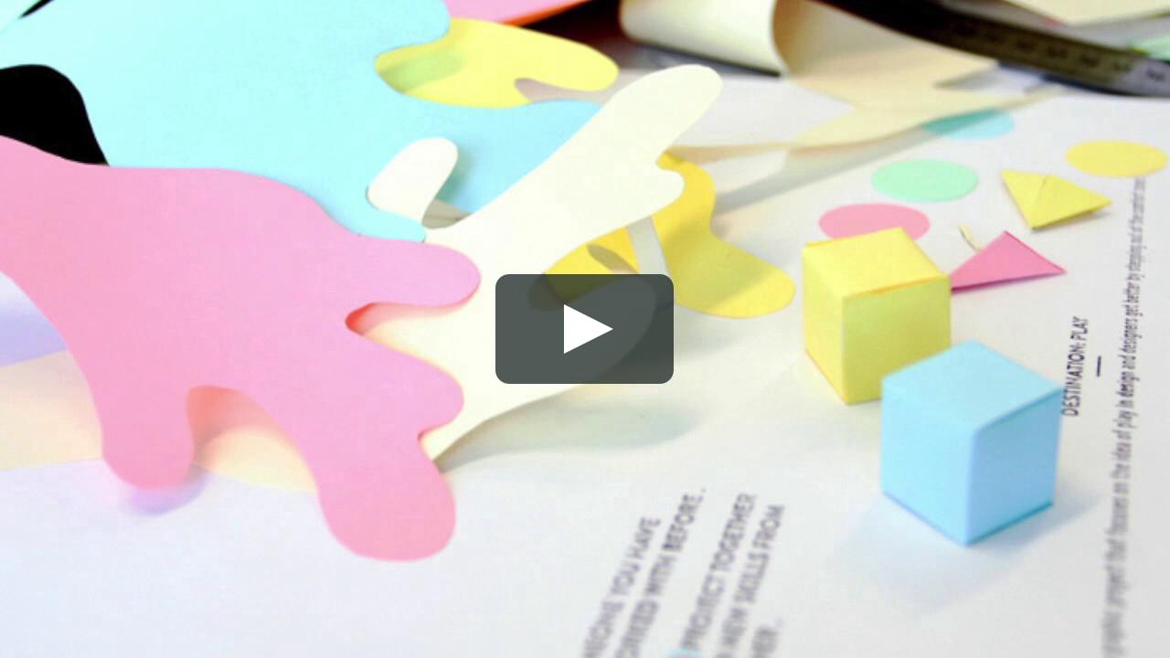 Papercraft Destination Play Experiment Nº 9