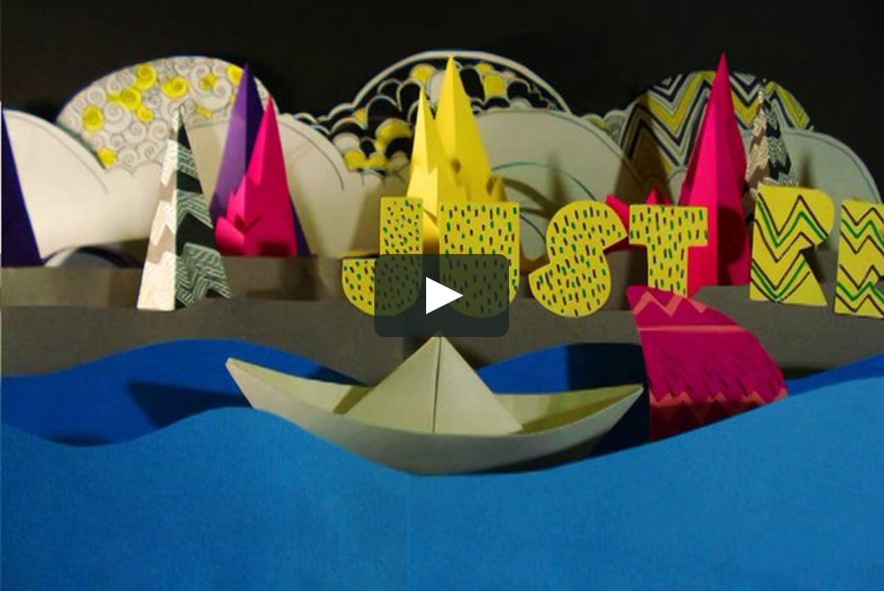 Papercraft Film Burn - YPPAH