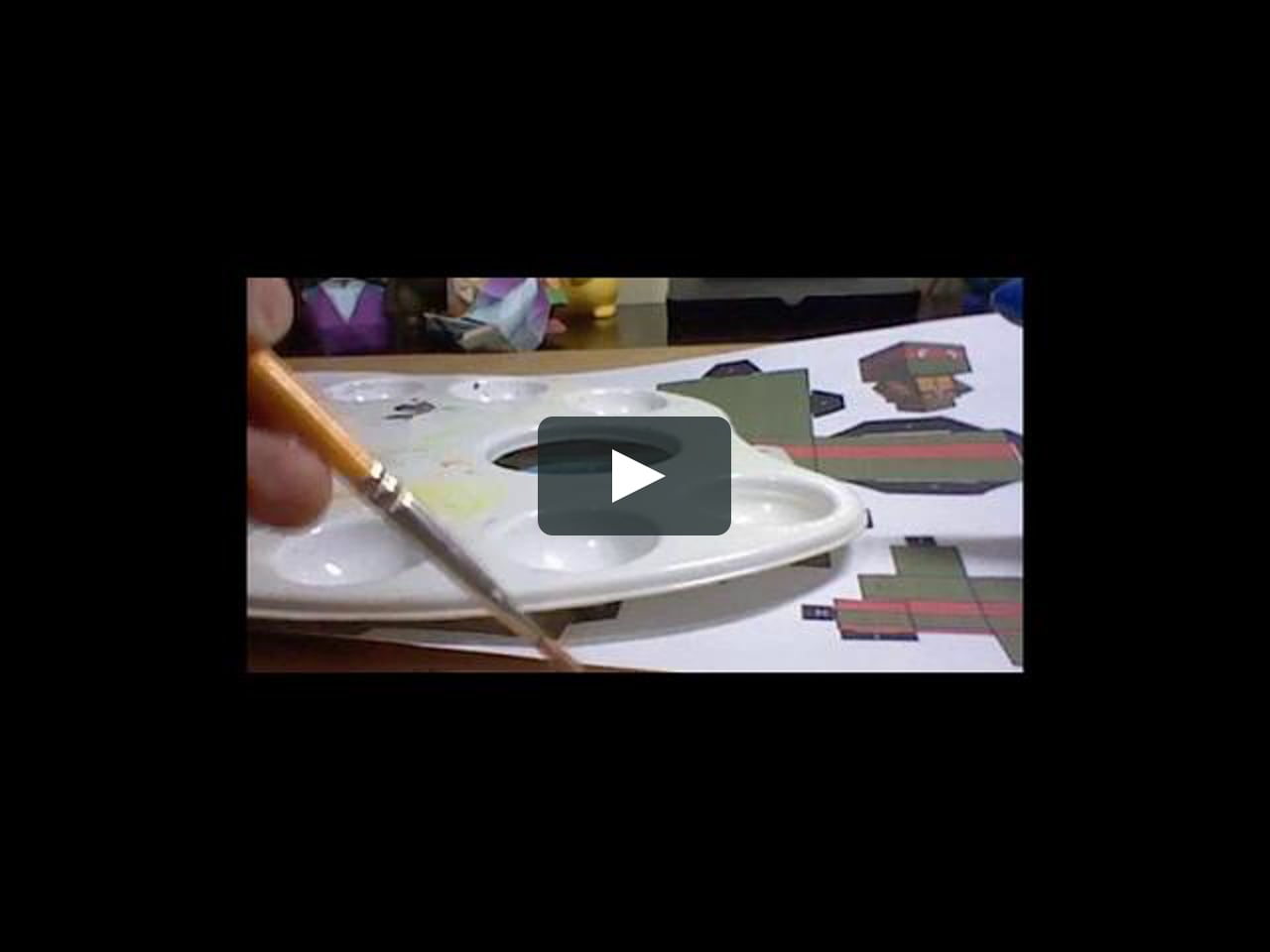 Papercraft Como fazer Papercraft: Vídeo 01: Cubecraft