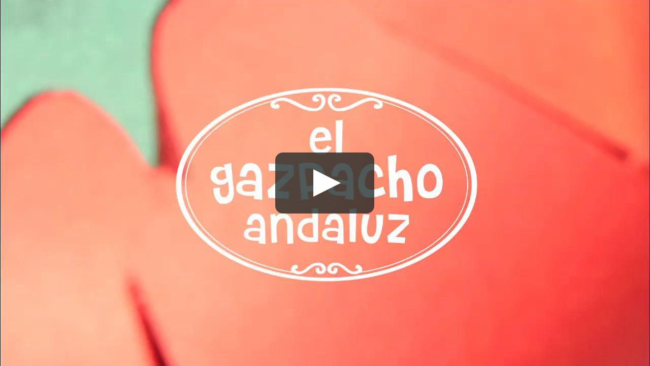 Papercraft Gazpacho Andaluz - Stopmotion & Papercraft
