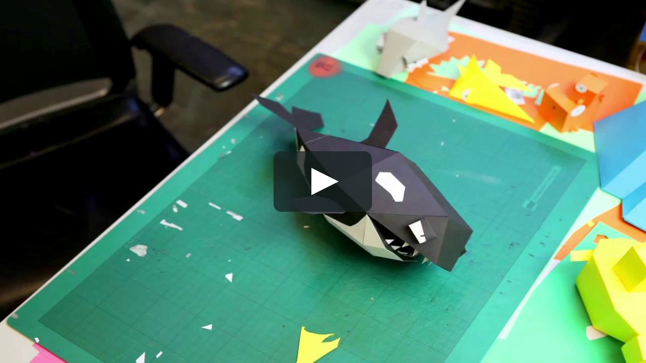 Papercraft Paper Craft - Orca Killer Whale