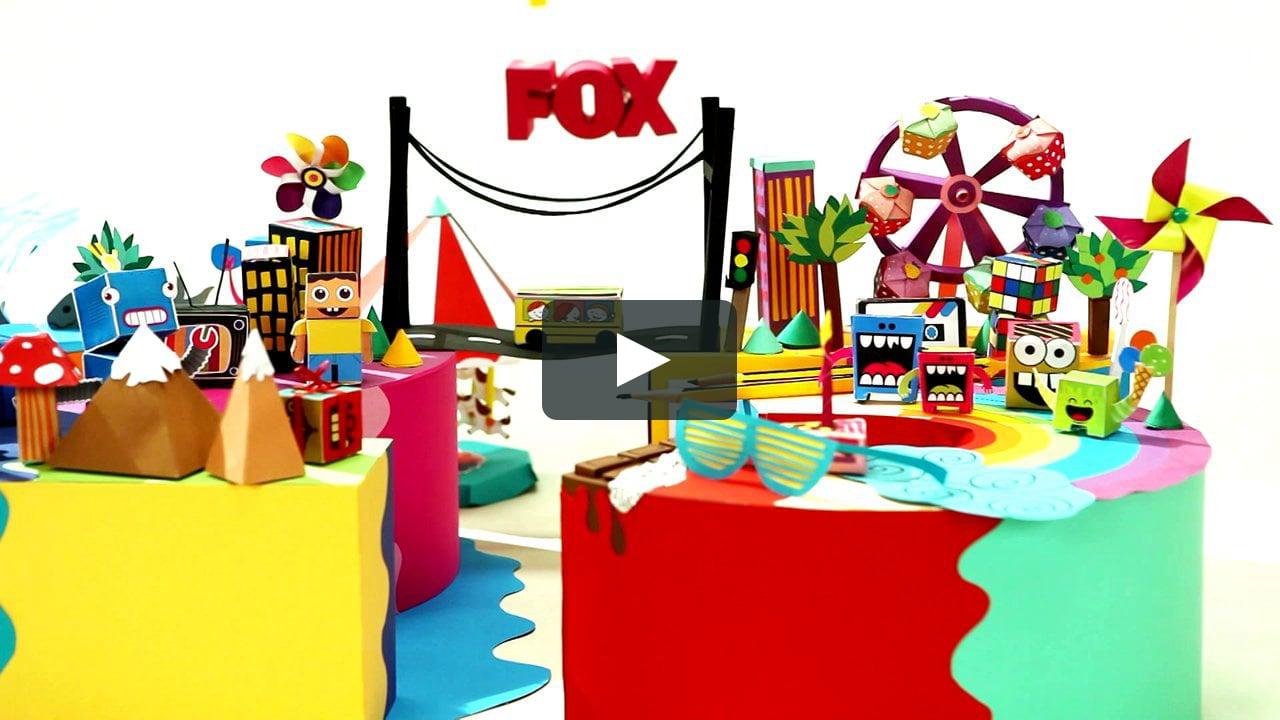 Papercraft 23 Nisan- FOX