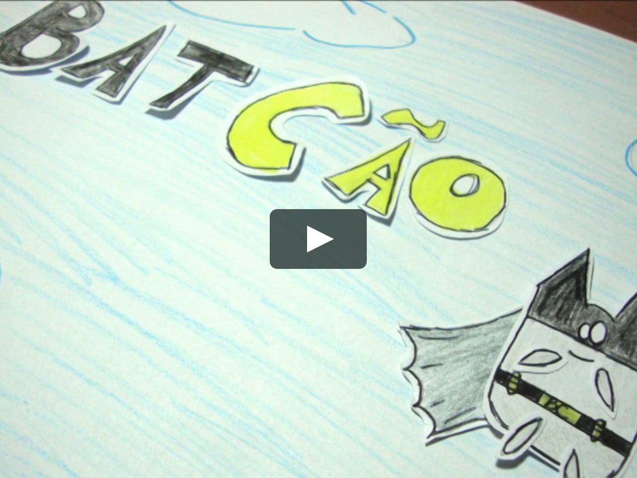 Papercraft Batcão (teaser) Paper Stop-Motion